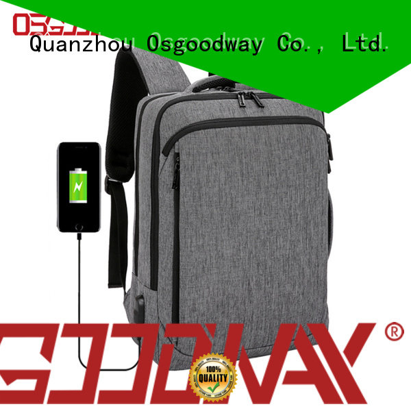 Osgoodway good quality backpack manufacturers china directly sale for men
