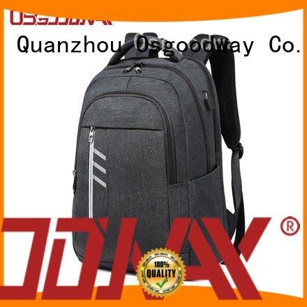 Osgoodway popular girl laptop backpack wholesale for men