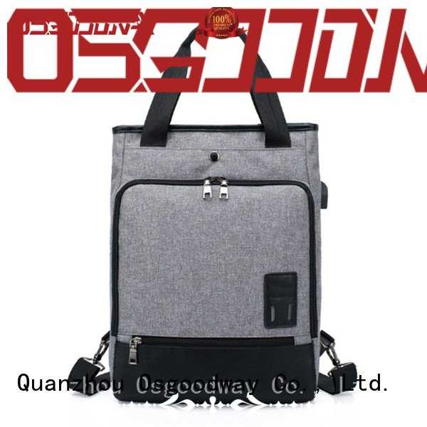 popular laptop charging backpack wholesale for work