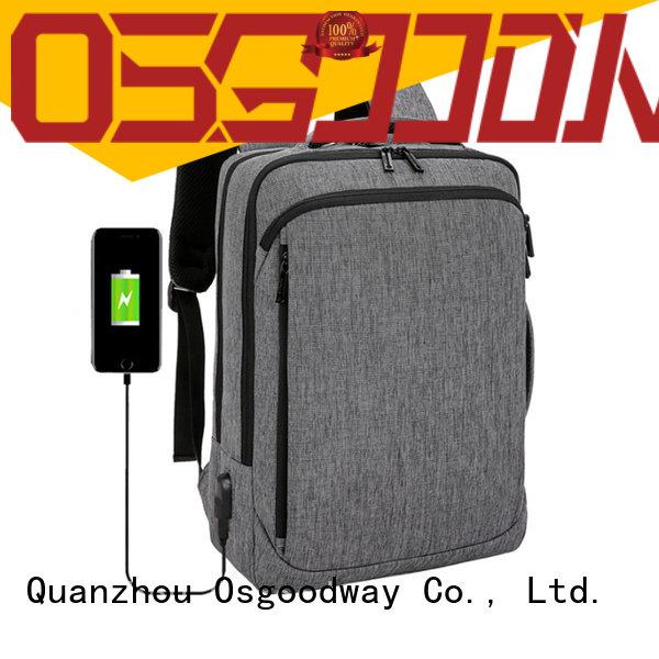 Osgoodway durable laptop backpack for girls supplier for men
