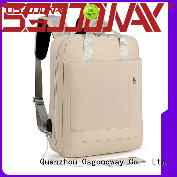 hot sale girl laptop backpack printing supplier for work