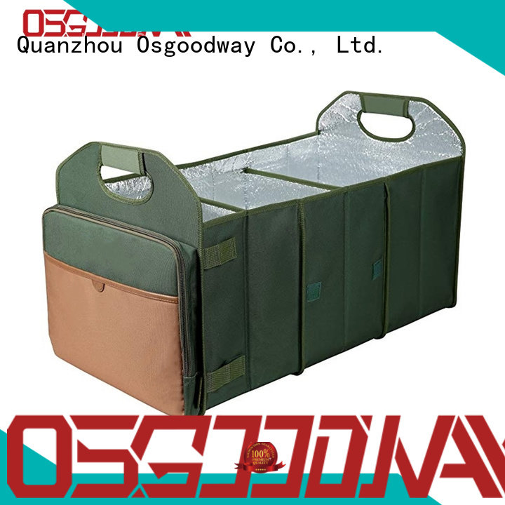 Osgoodway high quality suv trunk organizer personalized for car