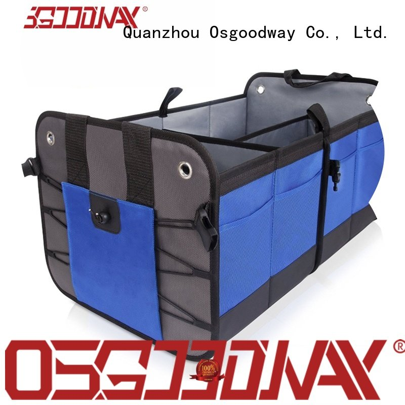 Osgoodway high quality trunk organizer with cooler bag for car