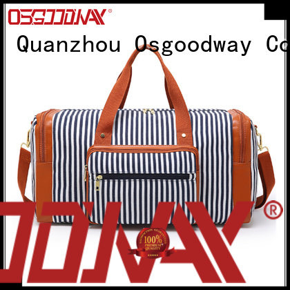 Osgoodway travel nylon duffle bag with Multi-pockets for fitness