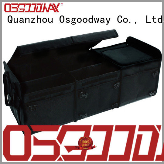 Osgoodway customized bmw trunk organizer supplier for minivan