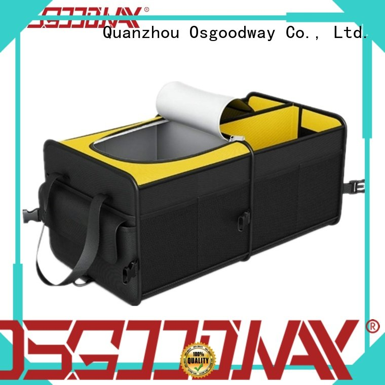 Osgoodway portable best trunk organizer for suv supplier for suv