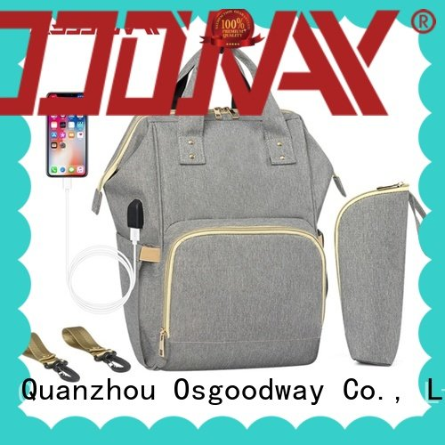 large capacity baby diaper bag backpack manufacturer for dad