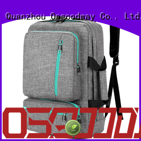 Osgoodway backpack manufacturers china supplier for business traveling