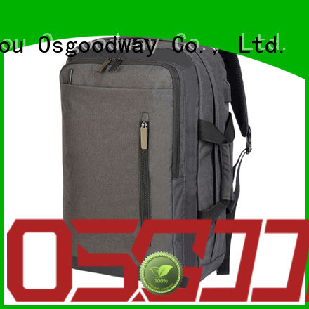 Osgoodway durable anti theft laptop backpack wholesale for work