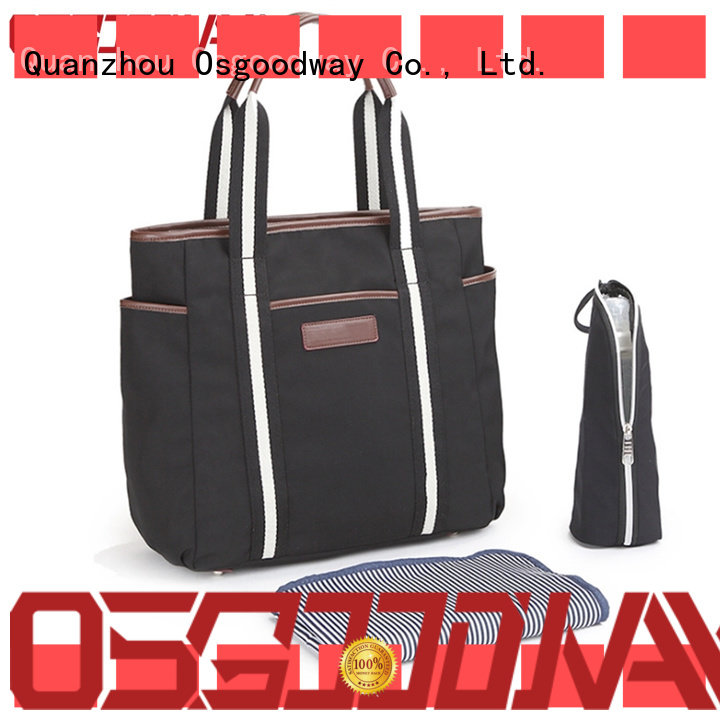 Osgoodway durable stylish diaper bags manufacturer for mom