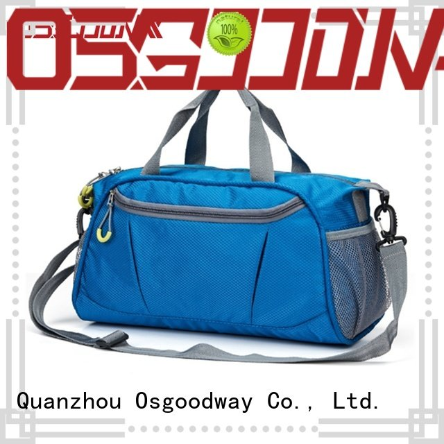 Osgoodway practical sports duffle bag design for travel