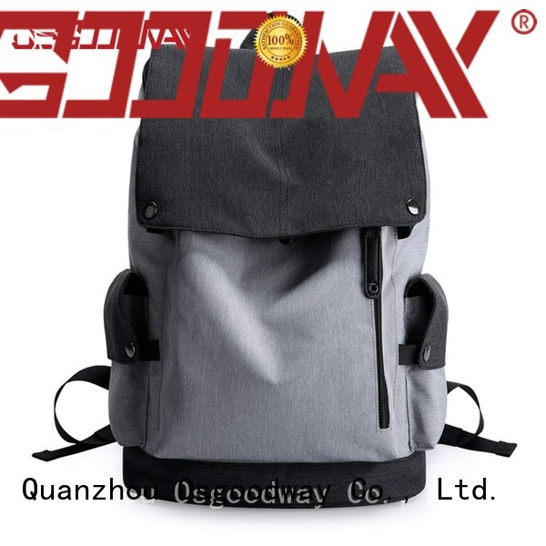 Osgoodway fashion women backpack design for business traveling