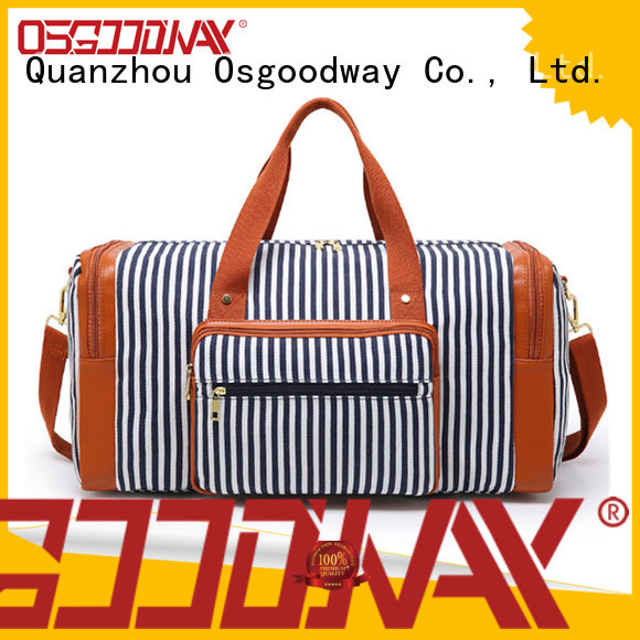 Osgoodway shoe duffle bag factory with Multi-pockets for travel