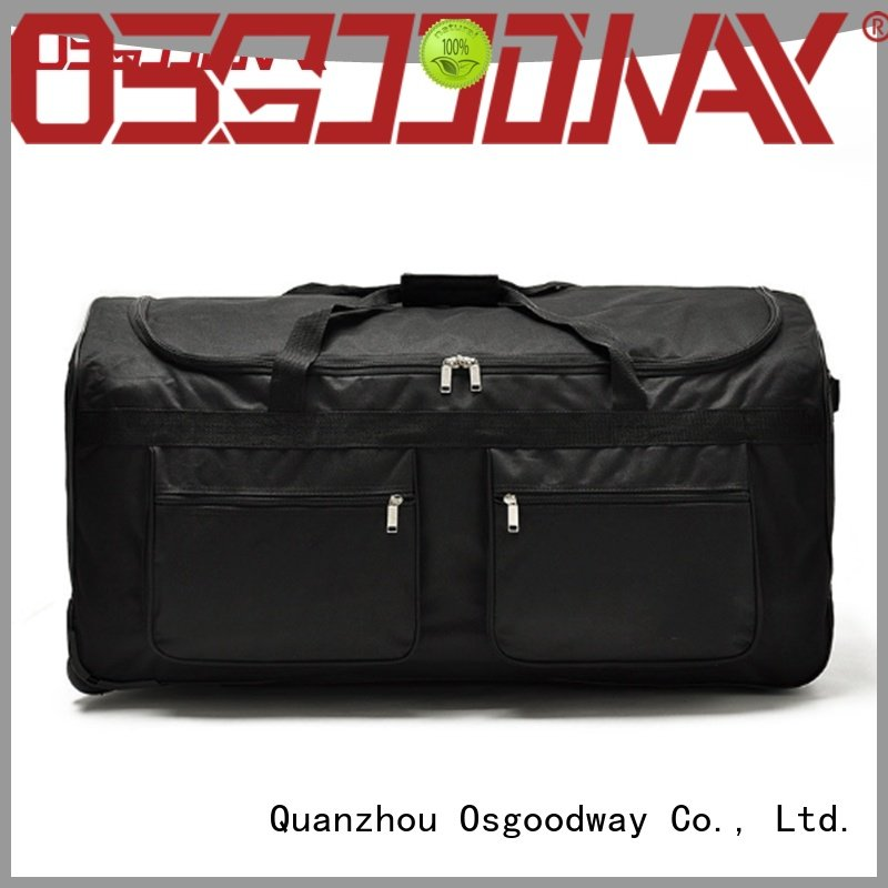 Osgoodway practical custom bag manufacturer design for fitness