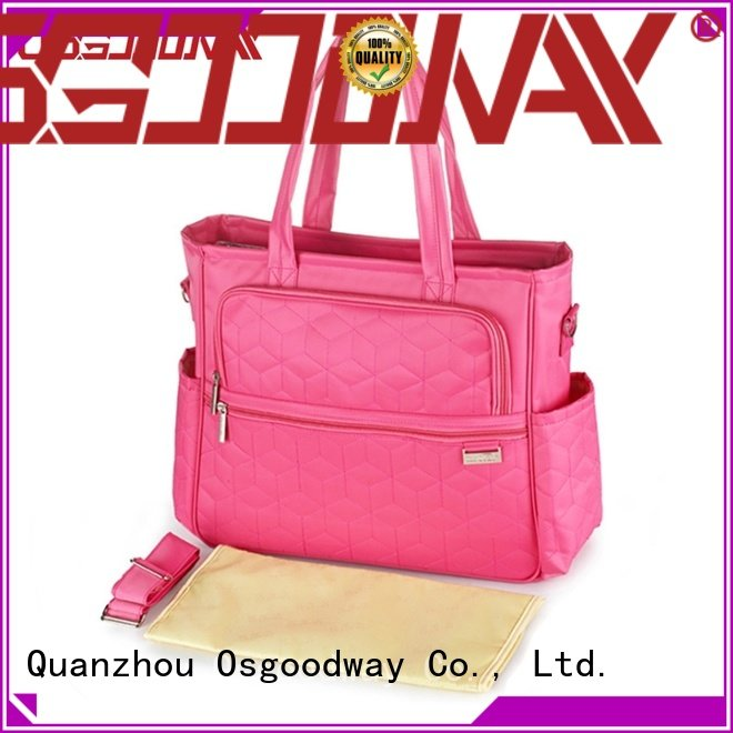 Osgoodway large capacity personalized diaper bags manufacturer for baby care