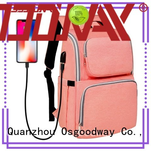 Osgoodway unicorn backpack baby diaper bag wholesale for vacation