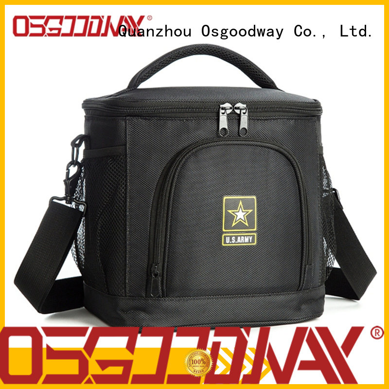 Osgoodway dual ice cooler bag supplier for BBQs