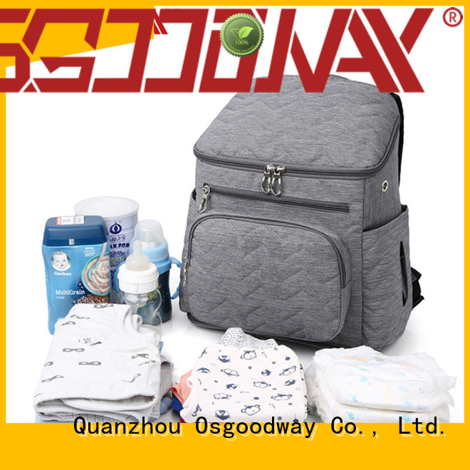 waterproof personalized diaper bags stuff easy to carry for baby care