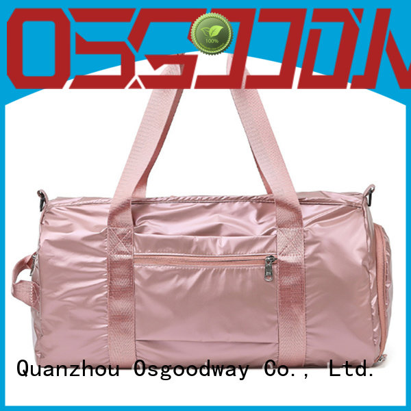 Osgoodway practical girls duffle bag with Multi-pockets for gym