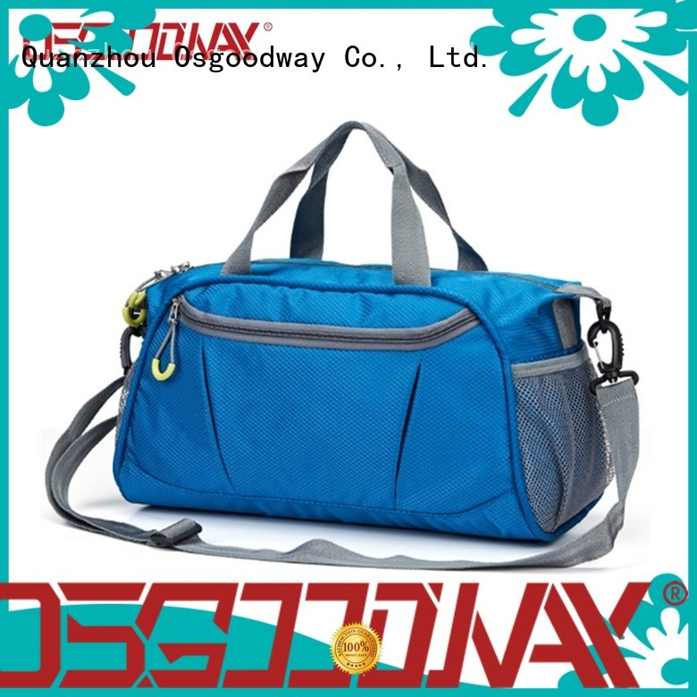 Osgoodway adjustable mens travel duffle bag supplier for travel