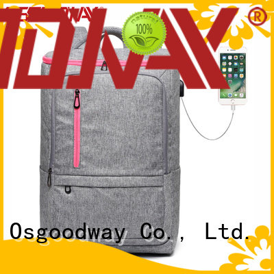 Osgoodway durable stylish laptop backpack supplier for men