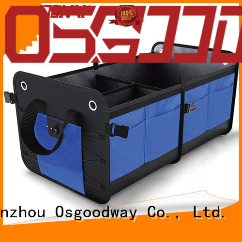 Osgoodway trunk storage organizer supplier for minivan