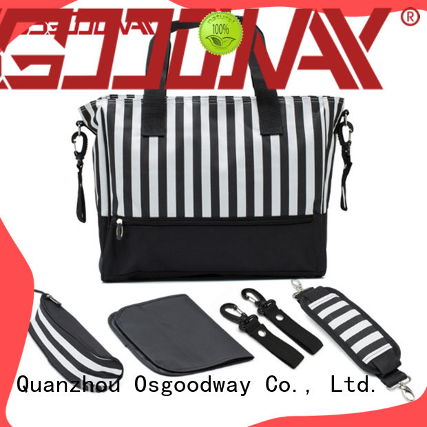 Osgoodway large capacity baby diaper bag wholesale for baby care