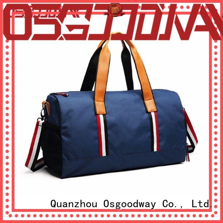 adjustable travel duffle bag shoes design for travel