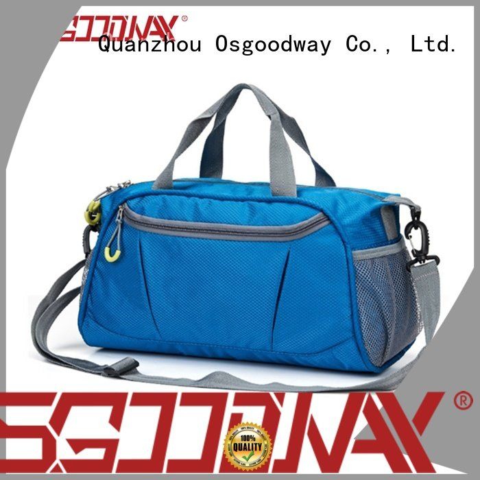 Osgoodway waterproof china bag factory design for sport