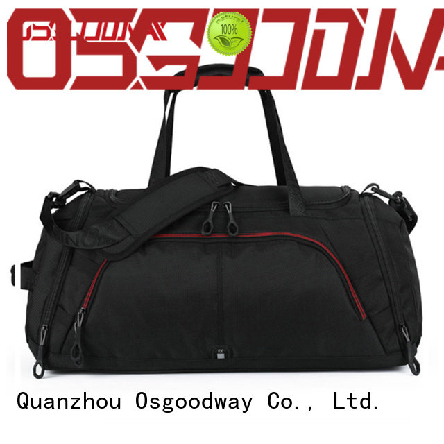 waterproof mens travel duffle bag gym with Multi-pockets for gym