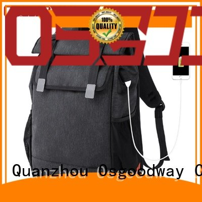 Osgoodway hot sale anti theft laptop backpack directly sale for business traveling