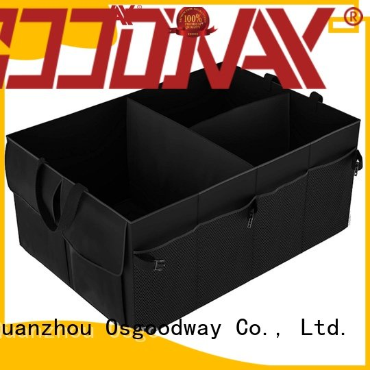 Osgoodway multipurpose large trunk organizer supplier for car