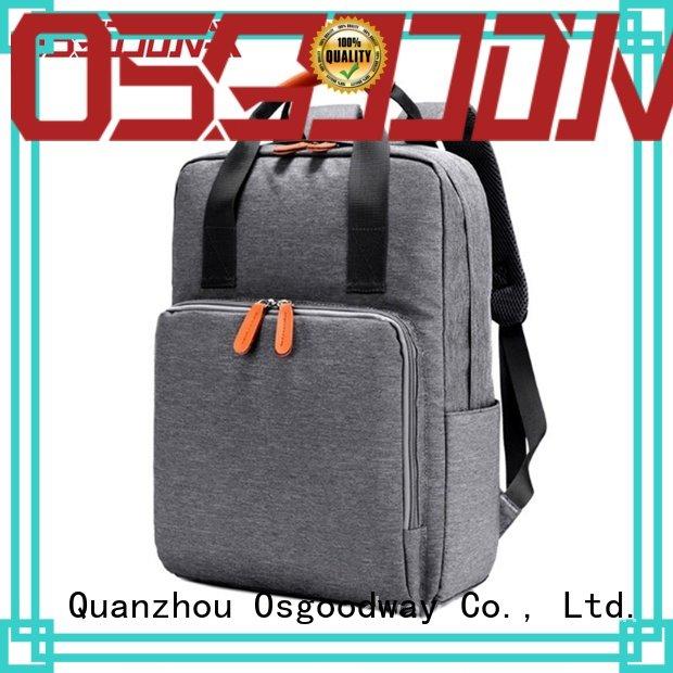 Osgoodway bag anti theft laptop backpack supplier for men