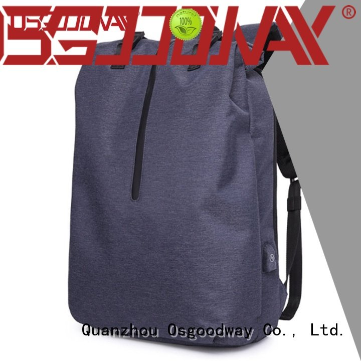 Osgoodway inch canvas laptop backpack directly sale for business traveling