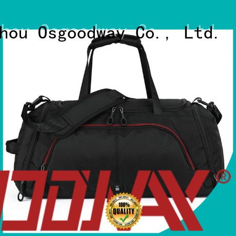 Osgoodway gym canvas duffle bag mens with Multi-pockets for sport