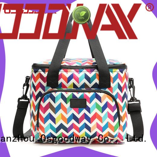 leak-proof large cooler bag insulated keep food fresh for camping