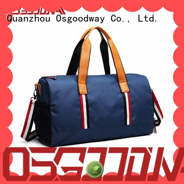 practical baseball duffle bag striped with Multi-pockets for sport