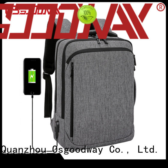 Osgoodway durable ladies laptop backpack from China for school