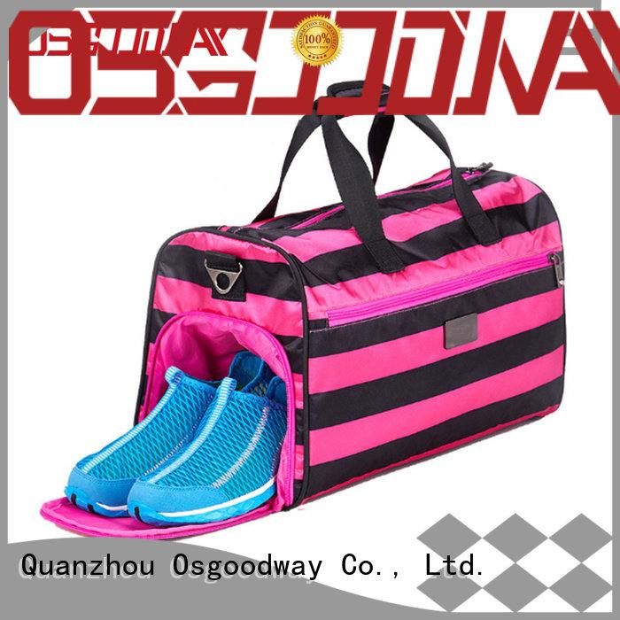 Osgoodway bags duffel bag manufacturer design for gym
