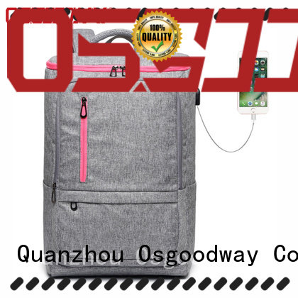 Osgoodway stylish laptop backpack supplier for work