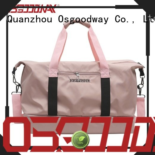 good quality mens duffle bag woman with Multi-pockets for travel