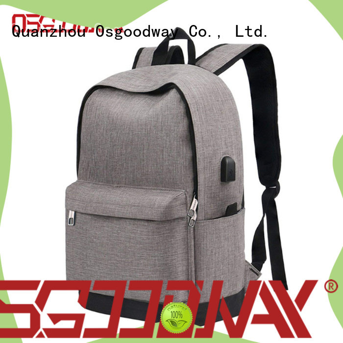 Osgoodway anti theft laptop backpack wholesale for work