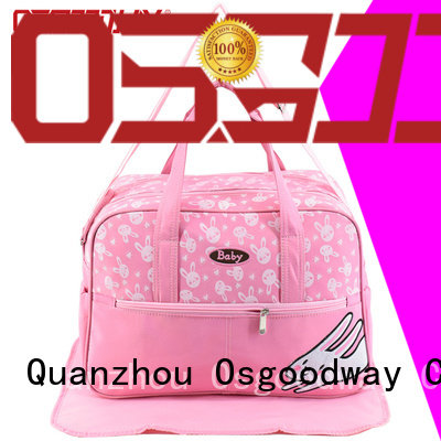 Osgoodway large capacity backpack diaper easy to clean for baby care