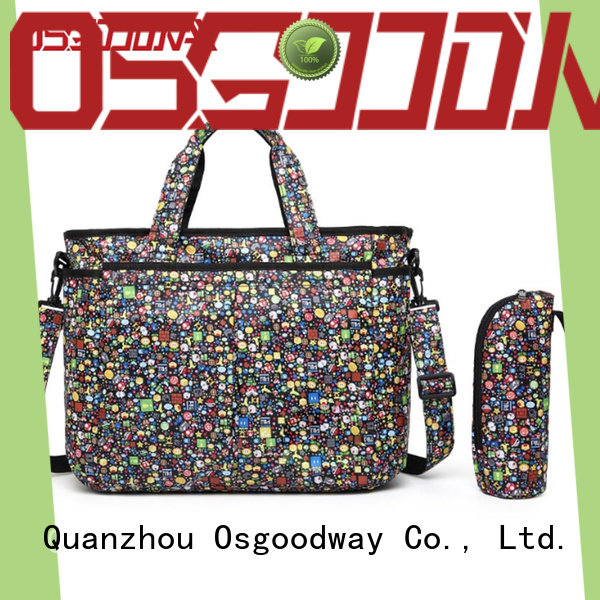 Osgoodway backpack baby diaper bag easy to clean for picnic