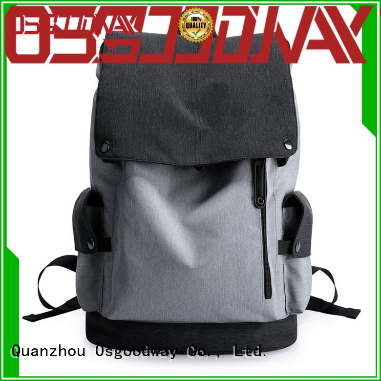 Osgoodway custom backpack wholesale distributors design for business traveling