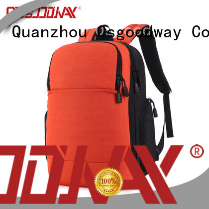 Osgoodway nylon travel laptop backpack from China for school