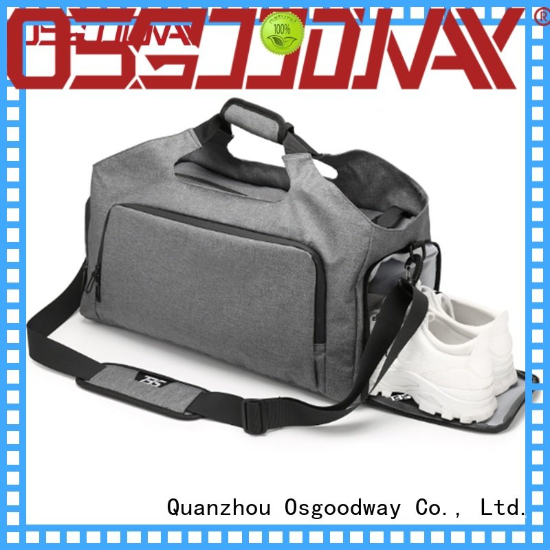 Osgoodway waterproof water proof duffle bag with Multi-pockets for gym