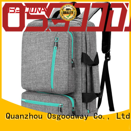 Osgoodway antitheft laptop backpack from China for school