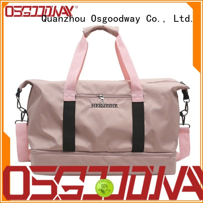 Osgoodway blank sports duffle bag supplier for sport