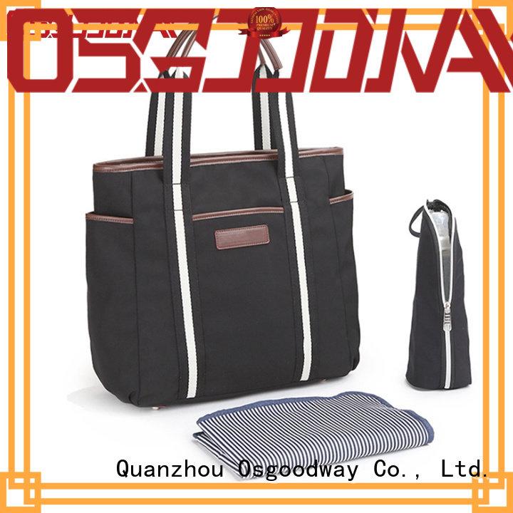 Osgoodway shoulders backpack diaper bag for girl wholesale for dad